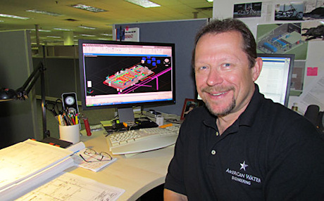 Bob Beatty uses AutoCAD MEP in his work as a senior CAD designer and CAD manager at American Water Engineering.