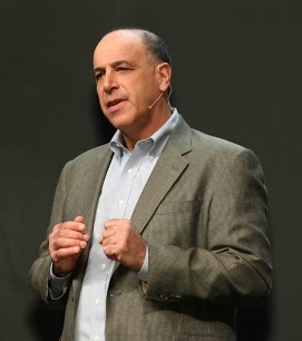 CEO Carl Bass addresses the crowd at Autodesk University 2012 in Las Vegas last week. Image courtesy of Autodesk.