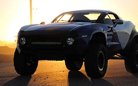 Local Motors relied on crowdsourced design to create the Rally Fighter off-road race car in 18 months' time and at a production cost of 